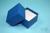 NANU Box 50 / 1x1 ohne Facheinteilung, blau, Höhe 50 mm, Karton spezial. NANU...