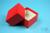 NANU Box 50 / 1x1 ohne Facheinteilung, rot, Höhe 50 mm, Karton spezial. NANU...