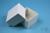 NANU Box 50 / 1x1 ohne Facheinteilung, weiss, Höhe 50 mm, Karton standard....