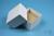 NANU Box 50 / 5x5 Fächer, weiss, Höhe 50 mm, Karton standard. NANU Box 50 /...