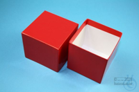 NANU Box 75 / 1x1 without divider, red, height 75 mm, fiberboard standard....