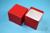NANU Box 75 / 1x1 ohne Facheinteilung, rot, Höhe 75 mm, Karton standard. NANU...