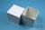 NANU Box 75 / 1x1 ohne Facheinteilung, weiss, Höhe 75 mm, Karton standard....