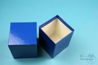 NANU Box 100 / 1x1 without divider, blue, height 100 mm, fiberboard standard....