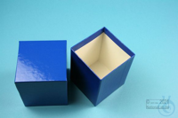 NANU Box 100 / 1x1 without divider, blue, height 100 mm, fiberboard special....