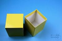 NANU Box 100 / 1x1 without divider, green, height 100 mm, fiberboard...