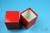 NANU Box 100 / 1x1 ohne Facheinteilung, rot, Höhe 100 mm, Karton standard....