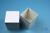 NANU Box 100 / 1x1 ohne Facheinteilung, weiss, Höhe 100 mm, Karton standard....