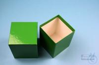 NANU Box 100 / 1x1 without divider, yellow, height 100 mm, fiberboard...