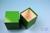 NANU Box 100 / 1x1 ohne Facheinteilung, gelb, Höhe 100 mm, Karton standard....
