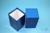NANU Box 130 / 1x1 ohne Facheinteilung, blau, Höhe 130 mm, Karton standard....