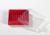 Kryo Box 100 / 10x10 Fächer, rot, Höhe 52 mm fix, num. Codierung, PC. Kryo...