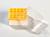 Kryo Box 25 / 5x5 Fächer, gelb, Höhe 52 mm fix, num. Codierung, PC. Kryo Box...