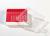Kryo Box 81 / 9x9 Fächer, rot, Höhe 52 mm fix, num. Codierung, PC. Kryo Box...