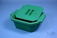Thorbi Ice Bucket, 2,5 litres, green, with lid, PVC. Thorbi Ice Bucket, 2,5...