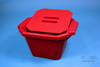 Thorbi Ice Bucket, 4,5 litres, red, with lid, PVC. Thorbi Ice Bucket, 4,5...