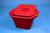 Thorbi Isolierbehälter, 4,5 Liter, rot, mit Deckel, PVC. Thorbi...