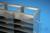 ALPHA Schrankgestell 32, für 21 Boxen bis 136x136x35 mm, 3T/7H, Edelstahl,...
