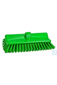 High-Low Brush, 265 mm, Medium, Green   High-Low Brush, PP Effectively clean and scrub floor-wall...