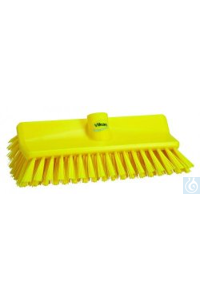 High-Low Brush, 265 mm, Medium, Yellow   High-Low Brush, PP Effectively clean and scrub...