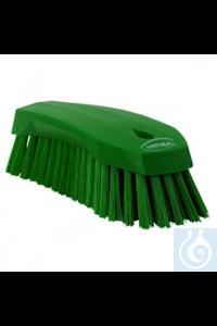 Hand Brush L, 200 mm, Hard, Green   Hand Brush, PP, hard Use this multipurpose Hand Brush to...