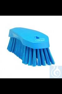 Hand Brush L, 200 mm, Hard, Blue   Hand Brush, PP, hard Use this multipurpose Hand Brush to...