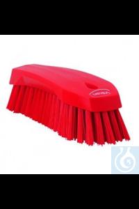Hand Brush L, 200 mm, Hard, Red   Hand Brush, PP, hard Use this multipurpose Hand Brush to...
