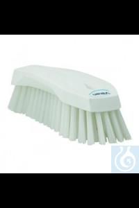 Hand Brush L, 200 mm, Hard, White   Hand Brush, PP, hard Use this multipurpose Hand Brush to...