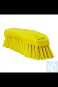 Hand Brush L, 200 mm, Hard, Yellow   Hand Brush, PP, hard Use this multipurpose Hand Brush to...