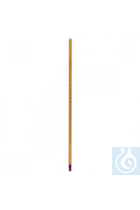 ASTM thermometer 114C, -80...+20°C rod shape, total length 295 mm, can be calibrated  ASTM...
