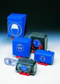 Secu Box Midi, 23,6x22,5x12,5cm blue