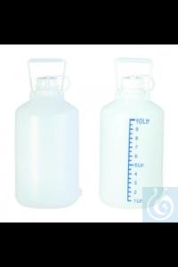 3Artikel ähnlich wie: Abklärflasche PE, 5 L, natur mit Traggriff, ohne Ablaßhahn, UV-Schutz, ohne...