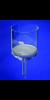 Filternutsche 250 ml, Por.3 80 mm Ø, Stiel 18 mm Ø  Filternutschen, Borosilikatglas 3.3...