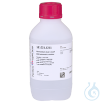 Salzsäure 1 mol/l (1N) Maßlösung Salzsäure 1 mol/l (1N) MaßlösungInhalt: 1000...