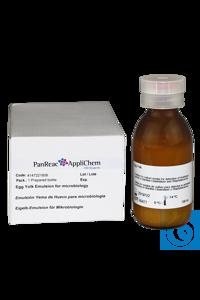 Eigelb - Emulsion - Supplement für die Mikrobiologie Eigelb - Emulsion -...