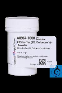 PBS - Puffer (1X Dulbecco's) - Pulver PBS - Puffer (1X Dulbecco's) -...