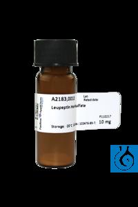Leupeptin - Hemisulfat Leupeptin - HemisulfatInhalt: 10 mgPhysikalische...