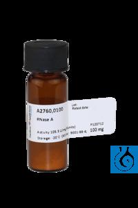 RNase A RNase AInhalt: 100 mgPhysikalische Daten: festKurzbeschreibung:...