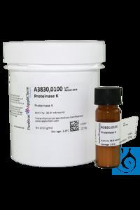 Proteinase K Proteinase KInhalt: 100 mgKurzbeschreibung: Lieferform:...