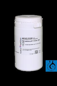 PBS - Puffertabletten pH 7,4 (für 100 ml) PBS - Puffertabletten pH 7,4 (für...