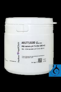 PBS - Puffertabletten pH 7,4 (für 200 ml) PBS - Puffertabletten pH 7,4 (für...