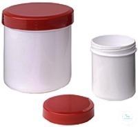 Salbendosen (Schraubdeckeldosen) Salbendosen mit rotem Deckel...