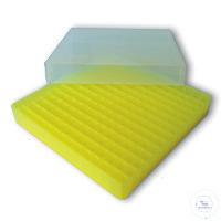 Aufbewahrungsbox PCR, Höhe 28,5 mm, 130 x 130 mm, 14 x 14 Fächer für 196...