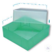 Aufbewahrungsbox, ohne Einteilung, mit Bodenöffnungen, Höhe 75 - 80 mm, 130 x...
