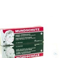 Einmalmundschutz Einmalmundschutz Aus zelluloser Filterfolie, mit elastischen...