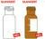 Kurzgewindeflaschen ND 9, 1,5ml, Klarglas silanisiert, VE=100 Stück...