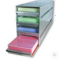 Edelstahlgestelle für Tiefkühlschränke  Edelstahlgestelle für...