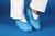 Einmalüberschuhe Blaue Schutzbezüge für Straßenschuhe aus blauer,...