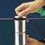Edelstahldose mit Knopfdeckel,150 x 150 mm Edelstahldose mit Knopfdeckel,...