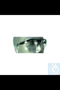 Schutzbrille, Bügelfarbe mint Extrem leichte Schutzbrille mit außergewöhnlich...